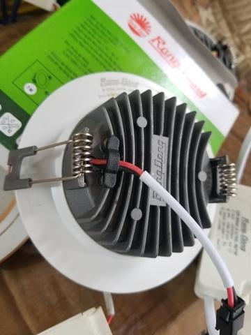 Đèn LED âm trần Downlight 7w Phi 90mm