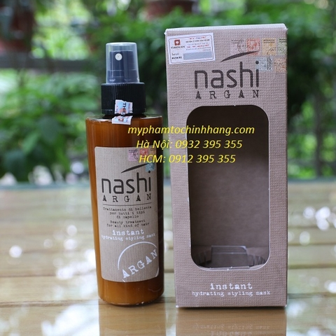 XẢ KHÔ NASHI ARGAN INSTANT HYDRATING STYLING MASK 150ML
