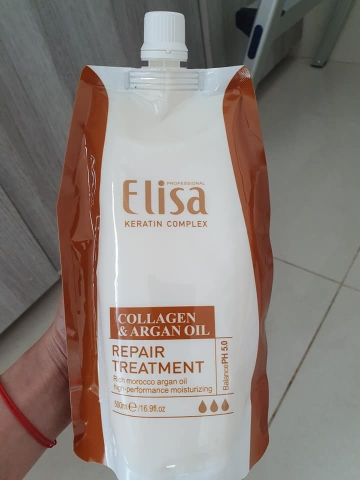 DẦU HẤP TÓC ELISA COLLAGEN & ARGAN OIL 500ML