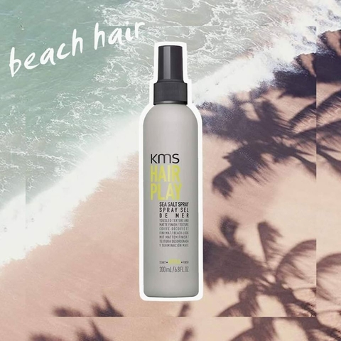 KEO XỊT TẠO KIỂU KMS HAIRPLAY SEA SALT SPRAY 200ML