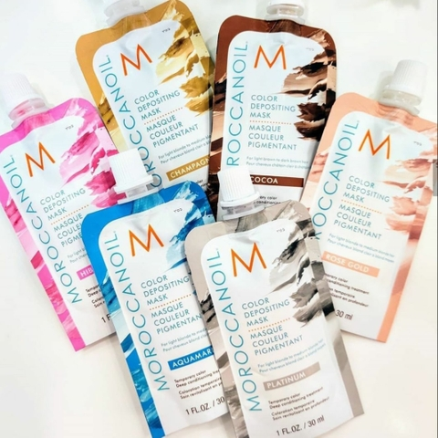 MẶT NẠ MOROCCANOIL BỔ SUNG HẠT MÀU COLORFUL CARE MASK 30ML