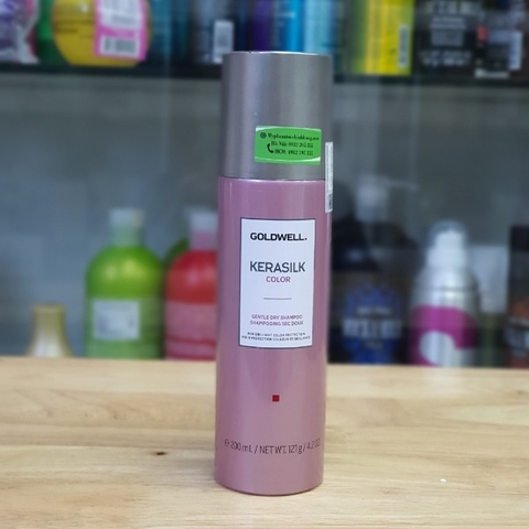 DẦU GÔI KHÔ GOLDWELL KERASILK COLOR 200ML