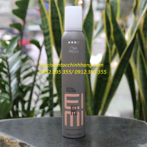 MOUSSE TẠO ĐỘ PHỒNG WELLA EXTRA VOLUME 500ML