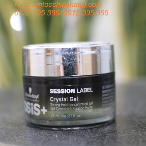 GEL GIỮ NẾP OSIS+ SESSION LABEL CRYSTAL GEL