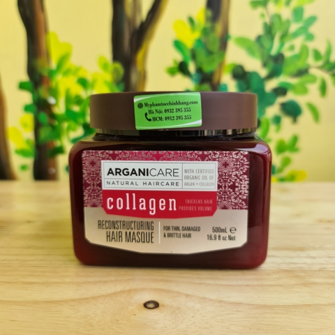 DẦU HẤP ARGANICARE COLLAGEN 500ML