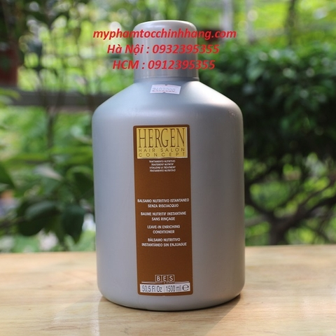 MỠ XẢ KHÔ BES HERGEN LEAVE-IN ENRICHING 1500ML
