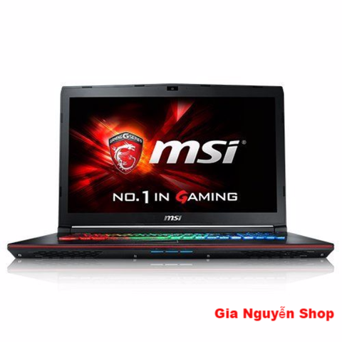 MSI GE72 Core  i7-6700HQ RAM 16GB 128GB SSD+1TB HDD