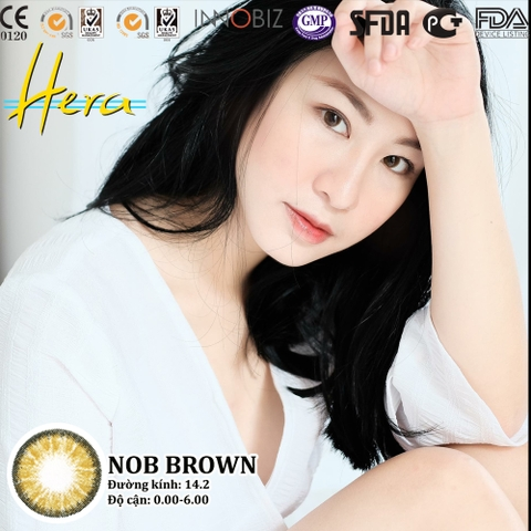 NOB BROWN ( 0.00 - 6.00 ĐỘ ) -14.2MM