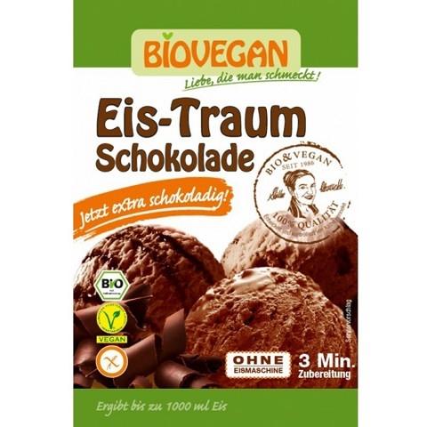 Bá»t làm kem socola hữu cÆ¡ Biovegan (77g)