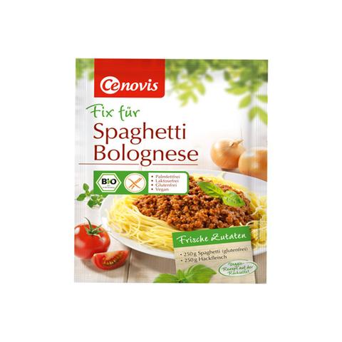 Bá»t làm sá»t spaghetti hữu cÆ¡ Cenovis (40g)
