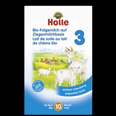 Sữa dê công thức hữu cơ Holle 3 (400g)