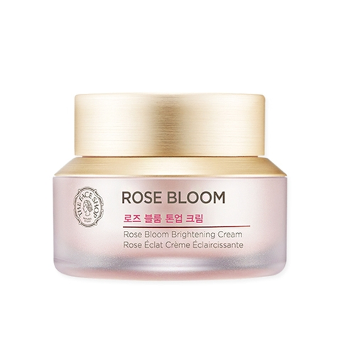 KEM DƯỠNG TRẮNG THE FACE SHOP ROSE BLOOM BRIGHTENING CREAM