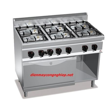 GAS 6B W/OVEN 37KW