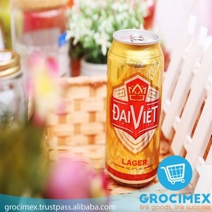 Bia lon Đại Việt / Dai Viet Lager can Beer 4.7% 355ml