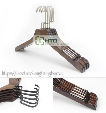 Móc gỗ treo quần áo MG-B001