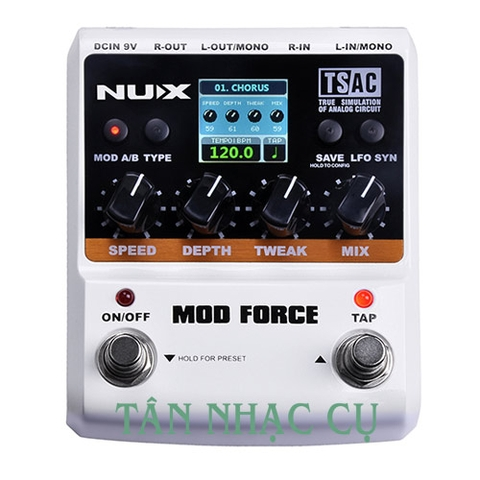 Phơ Guitar Nux Mod Force