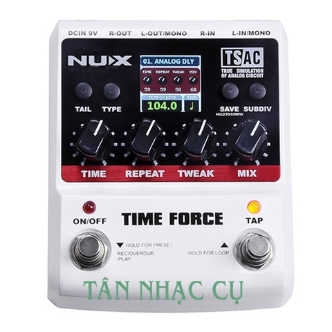 Phơ Guitar Nux Time Force