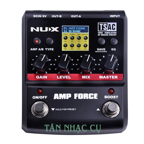 Phơ Guitar Nux Amp Force