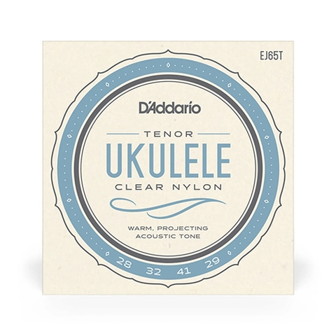 D'Addario EJ65T Pro-Arte Custom Extruded Tenor Ukulele Strings