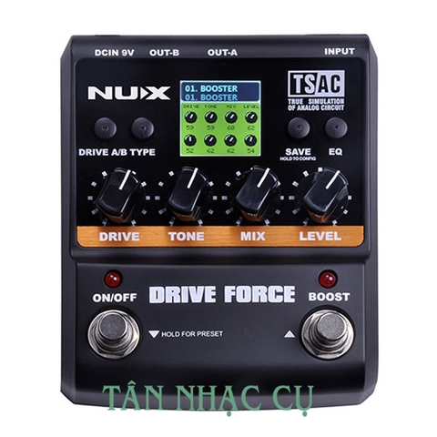 Phơ Guitar Nux Drive Force