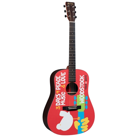 Đàn Guitar Martin X Series DX Woodstock 50th Acoustic Guitar