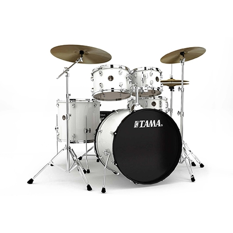 TAMA RM52KH6C-WH Rhythm Mate 5-Piece Drums w/Hardwares & Cymbals, White