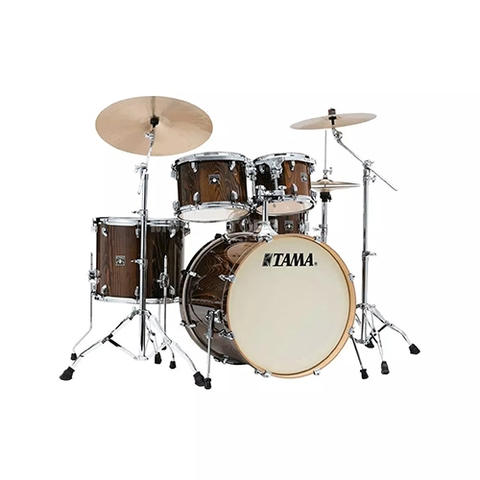 TAMA CL52KRSP-GJP Superstar Classic Exotix 5-Piece Drum Shell Kit, Gloss Java Lacebark Pine