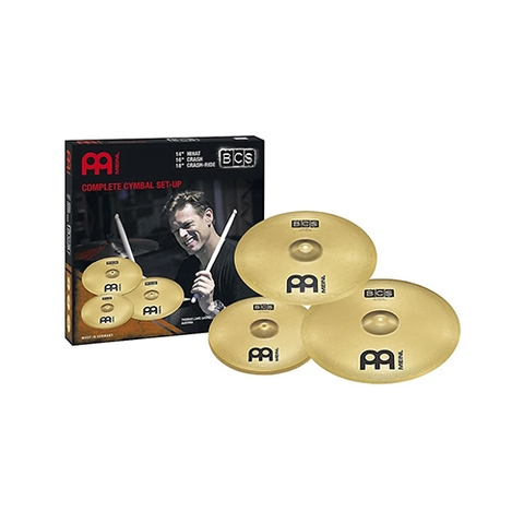 MEINL Cymbals BCS141620 BCS Cymbal Set (14HiHat, 16Crash, 20Ride)