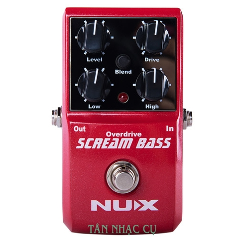 Phơ Guitar Nux Scream Bass