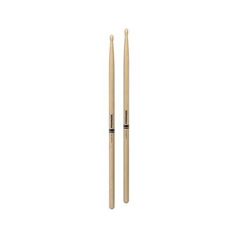 Promark TX7AW Hickory 7A Drumsticks, Wood Tip