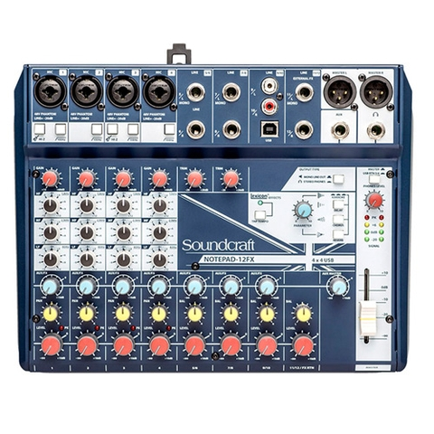 MIXER SOUNDCRAF NOTEPAD 12FX