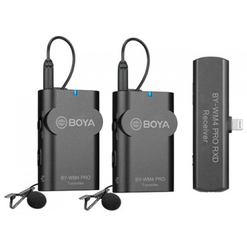 MICROPHONE BOYA BY-WM4 PRO K4 (Wireless)