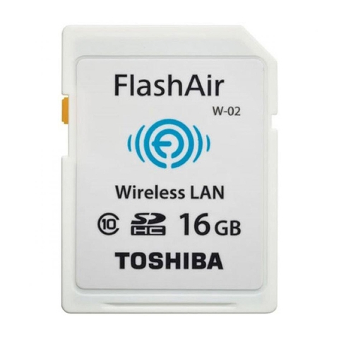SDHC Toshiba  Wifi Flash Air W-03 16GB
