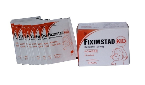FIXIMSTAD KID – 50mg/100mg (Cefixim 50mg/100mg)