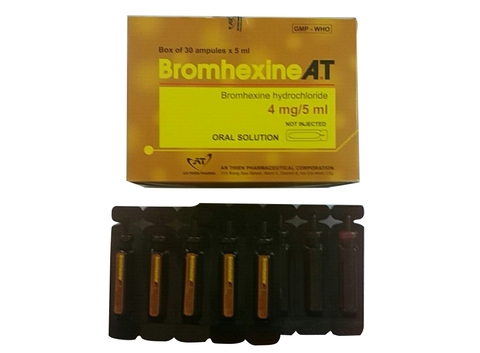 BROMHEXINE A.T 4mg/5ml