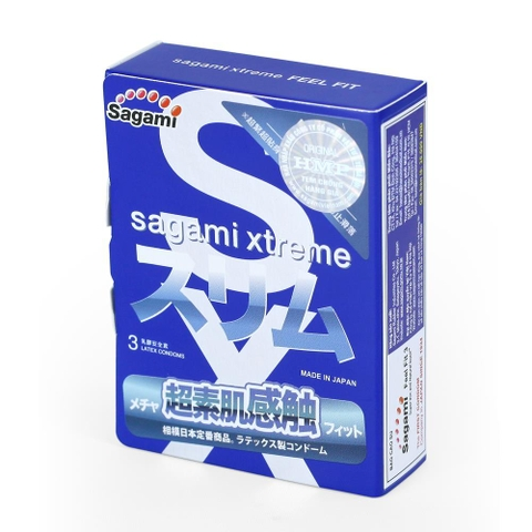 Sagami Xtreme Feel Fit (Hộp 3)