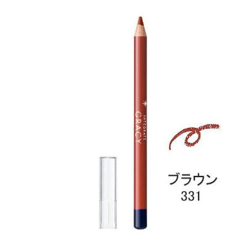 Chì kẻ môi - Shiseido Integrate Gracy Lip Liner Pencil Color Brown 331