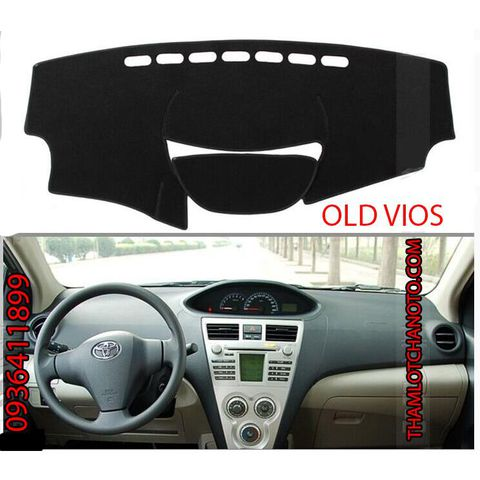 Thảm chống nắng taplo  Old vios