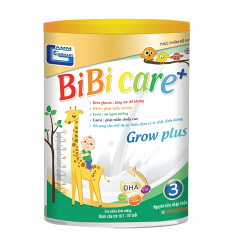 Sữa bột BiBi Care Grow Plus 400 gram