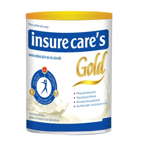 Sữa bột Insure Care's Gold 400 gram