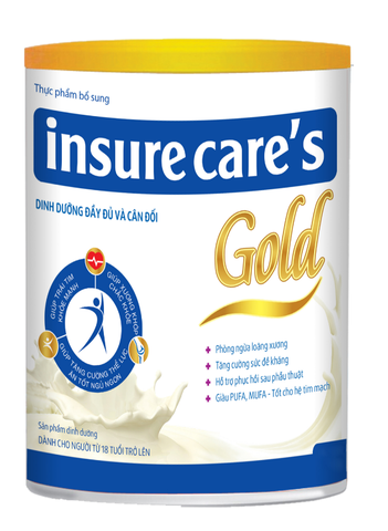 Sữa bột Insure Care's Gold
