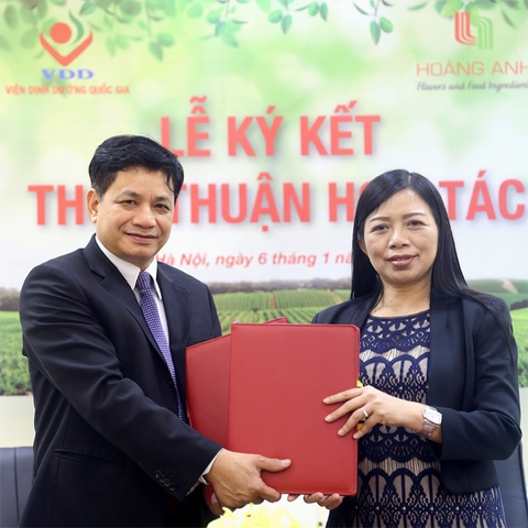 Strategic partnership of Hoang Anh – Vietnam's National Institute of Nutrition