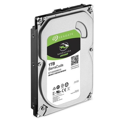 Seagate Barracuda 1TB Sata 3 6Gb/S 7200rpm 64MB Cache