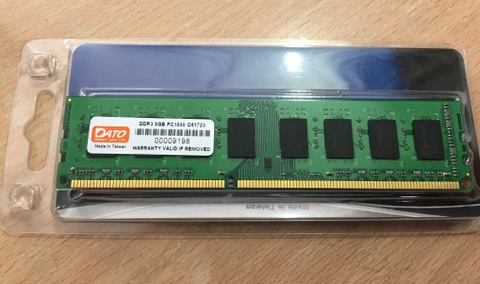 DDR3 -8GB BUS 1600MHz -  DATO