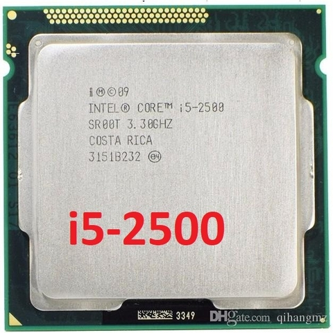 Intel Core i5 2500 (3.70GHz/ 6M Cache/ Socket 1155)