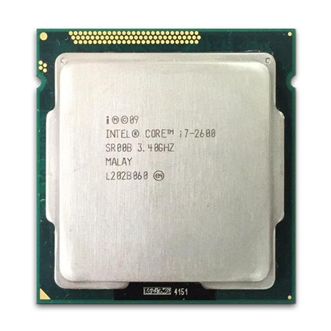 Intel Core i7 2600 (3.40GHz/ 8MB Cache/ Socket 1155)