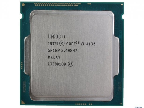 Intel Core i3-4130 (3.40 GHz, 3MB Cache, 5 GT/s DMI)