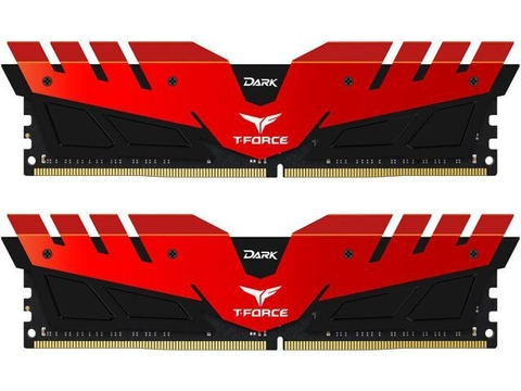 DDR4 - 8GB BUS 2400MHZ TEAM T-FORCE DARK