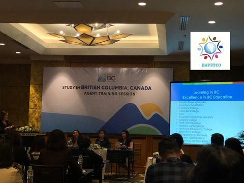 MEETING WITH BRITISH COLUMBIA, CANADA - AGENT TRAINING SESSION