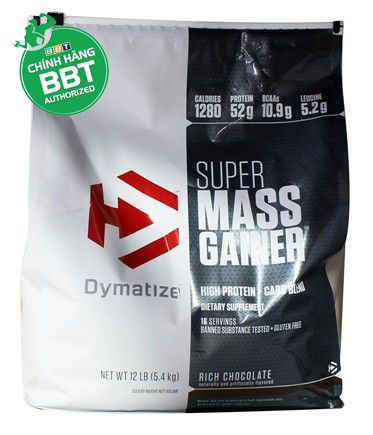Dymatize Super Mass Gainer Bịch 5.4kg